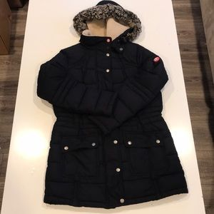 Barbour Down Puffer Coat (Size 10)